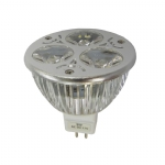 Lâmpada MR16 Led - SYM-MR16-SL3x1W-B1
