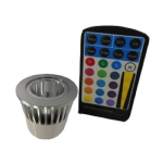Lâmpada MR16 RGB Led - SYM-MR16-RGB1x-5W-A1
