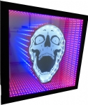 Infinity Led Frame Mirror - Caveira
